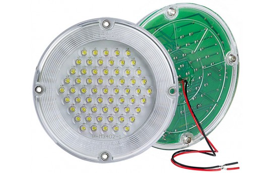 """6"""" Round LED Dome Light Fixture - 10 Watt Equivalent - TDL-NW60"""