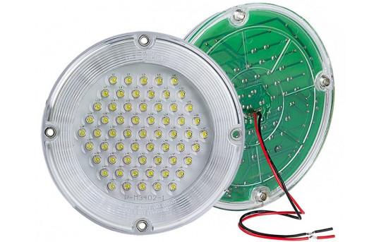 "7"" Round LED Dome Light Fixture - 20 Watt Equivalent"