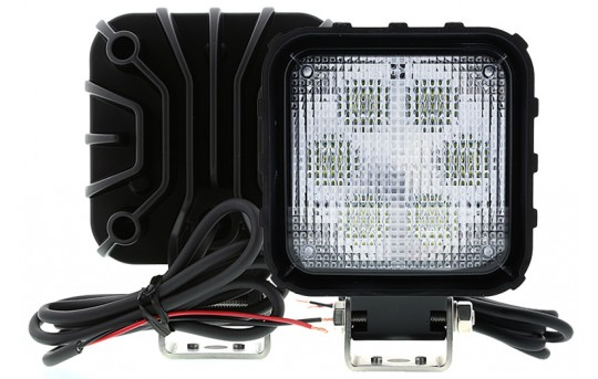 "Off-Road LED Work Light/LED Driving Light - 4-1/2"" Square - 28W - 1,000 Lumens - WL-CWHP27-S80"