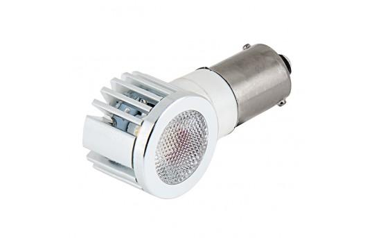 1156 LED Bulb w/ Adjustable Right Angle - 1 High Power LED - BA15S Retrofit - 1156-x2W-ARA-CAR