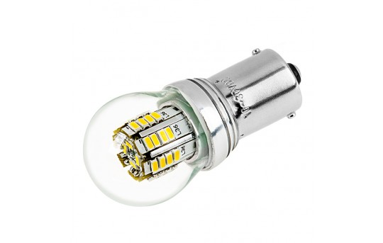1156 LED Boat and RV Light Bulb w/ Stock Cover - 36 SMD LED Tower - BA15S Retrofit - 290 Lumens - 1156-x3W-G-RVB
