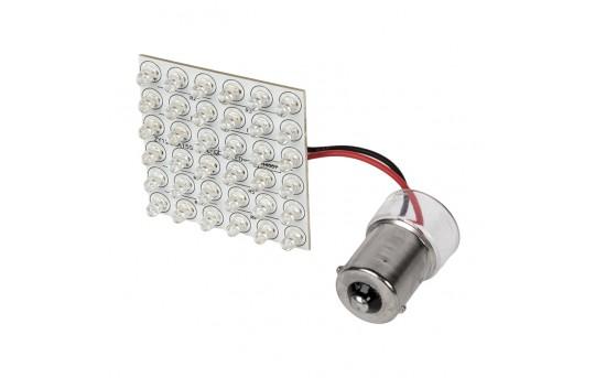 1156 LED Bulb - 36 LED PCB Lamp - BA15S Base - 1156-PCB-x36-CAR