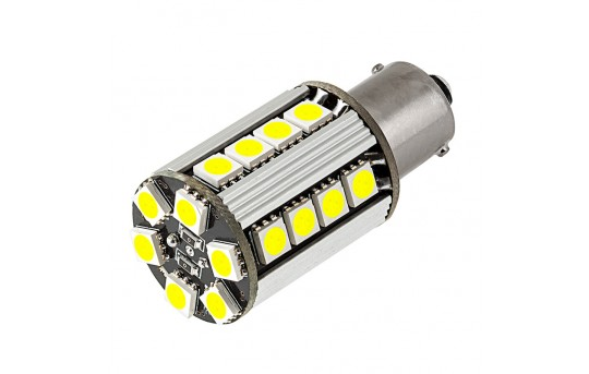 1156 CAN Bus LED Bulb - 26 SMD LED Tower - BA15S Base - 1156-x26-CBT-CAR