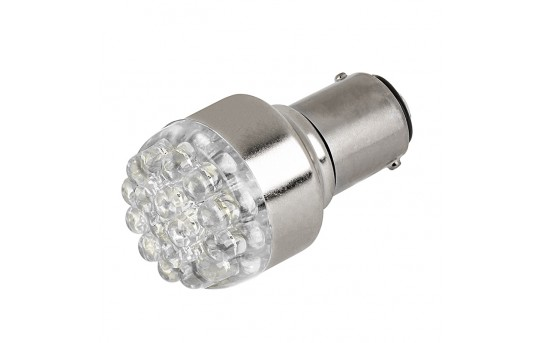 1142 LED Bulb - 19 LED Forward Firing Cluster - BA15D Bulb - 1142-x19-CAR