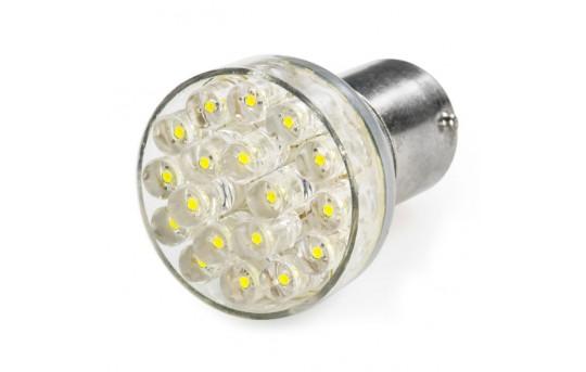 1157 LED Bulb - Dual Function 24 LED Forward Firing Cluster - BAY15D Retrofit - 1157-x24-CAR