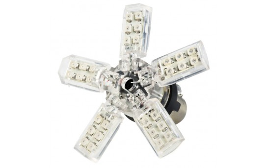 1156 LED Bulb - 30 SMD LED Spider - BA15S Base - 1156-x30SMD-SP-CAR