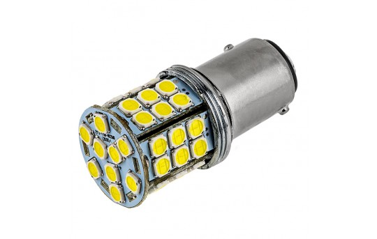 1157 LED Boat and RV Light Bulb - Dual Function 45 SMD LED Tower - BAY15D Retrofit  - 1157-x45-T-RVB