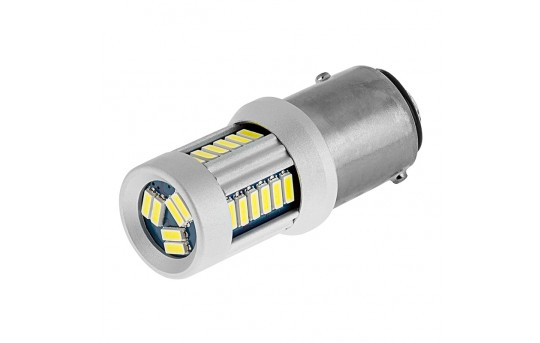 1157 CAN Bus LED RV Light Bulb - Dual Function 30 SMD LED Tower - BAY15D Retrofit - 295 Lumens - 1157-x30-CBT-RVB
