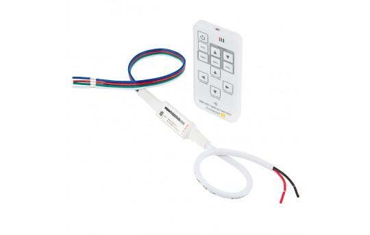 12V or 24V Wireless RGB LED Lighting Controller - HHRGB14