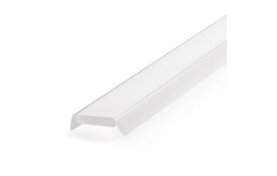 Klus 1369-1M - LED Profile Lens, Rigid Frosted - 1369-1M