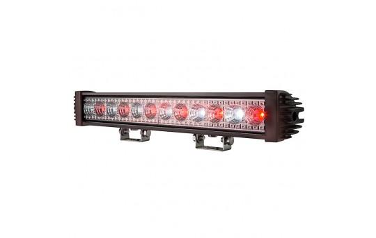 """18"""" Red/White LED Off-Road Light Bar - 24W - 2,750 Lumens - ORB18-24WRS-SP"""