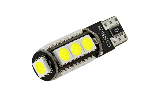 921 CAN Bus LED Bulb - 13 SMD LED Tower - Miniature Wedge Retrofit - 921-x13-CBT-CAR