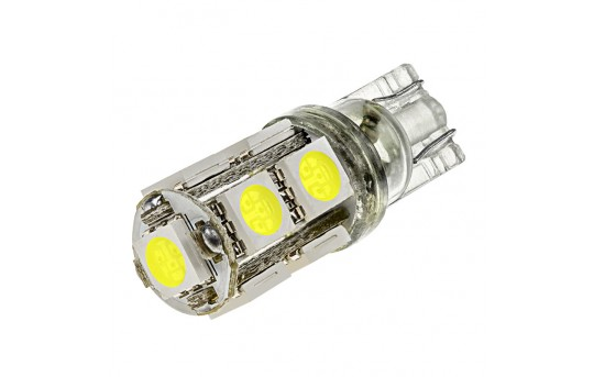 921 LED Boat and RV Light Bulb - 9 SMD LED - Miniature Wedge Retrofit - 150 Lumens - 921-xHP9-T-RVB