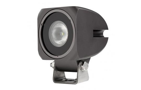 """10W Mini-Aux 2"""" Square LED Work Light - Cosmetic Blemish - AUX-10W-S40G-DM"""