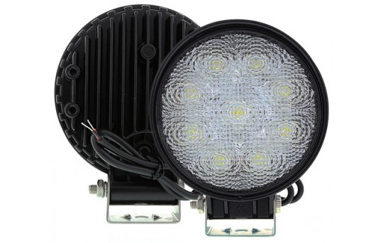 "Off-Road LED Work Light/LED Driving Light - 5.5"" Round - 19W - 2,025 Lumens - WL-27W-Rx"