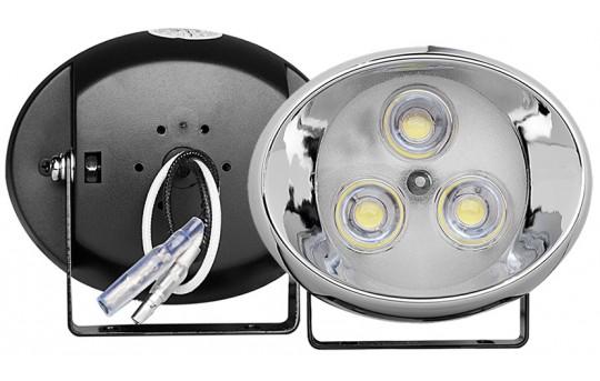 High Power LED Light Pod Kit - 130 Lumens - Round Set - DRL-CW3-R