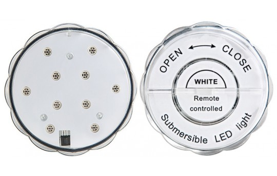 Submersible LED Accent Light w/Remote - SAL-W10SMD-IR