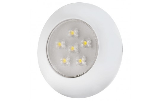 "3"" Round LED Dome Light Fixture - 5 Watt Equivalent - TDL-W6"