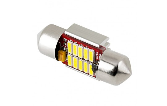 DE3022 CAN Bus LED Bulb - 10 SMD LED Festoon - 31mm - 3110-W10-CB-CAR