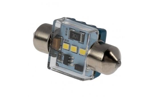 DE3022 CAN Bus LED Bulb - 3 SMD LED Festoon Bulb - 31mm - 3110-xK3C-CB