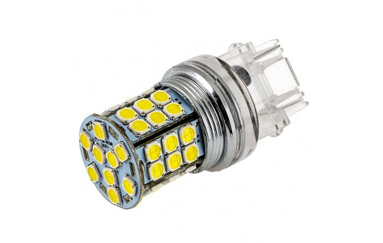 3156 LED Bulb - 45 SMD LED Tower - Wedge Base - 3156-x45-T-CAR