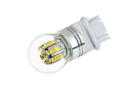 3156 LED Bulb w/ Stock Cover - 36 SMD LED Tower - Wedge Retrofit - 3156-x3W-G-CAR