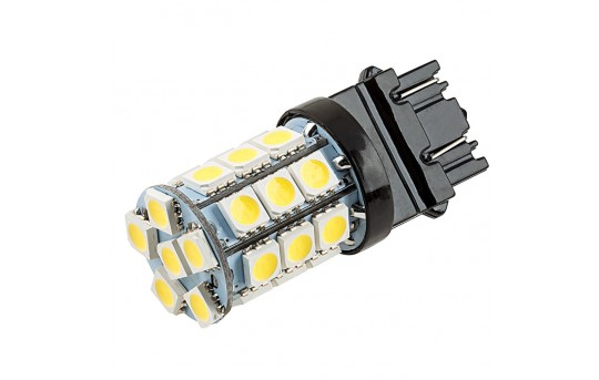 3156/3157 CK LED Bulb - Dual Function 27 SMD LED Tower - Wedge Base - 3157-x27-T-CK-CAR