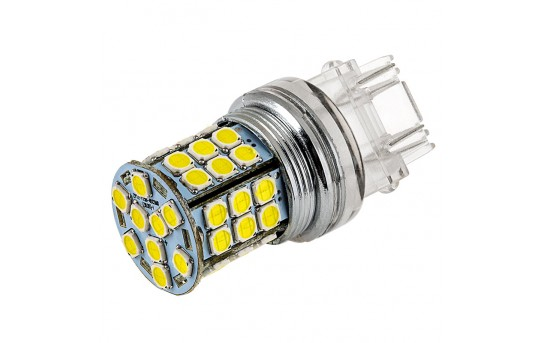 3157 LED Bulb - Dual Function 45 SMD LED Tower - Wedge Retrofit - 3157-x45-T-CAR