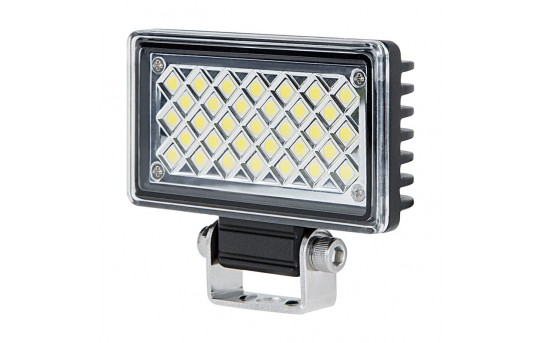 "Mini Off-Road LED Work Light/LED Driving Light - 3.5"" Rectangular - 5W - 725 Lumens - AUX-6W-RE120"