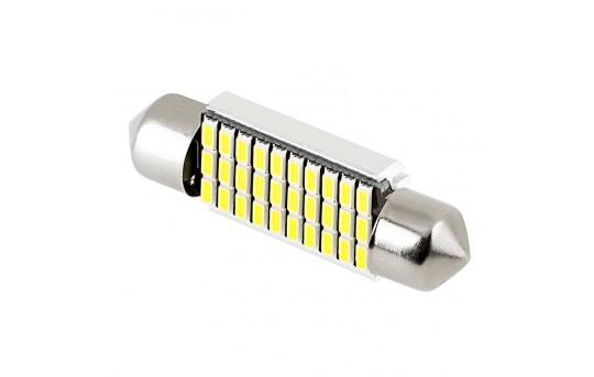 3910 CAN Bus LED Bulb - 30 SMD LED Festoon - 39mm - 3910-x30-CB