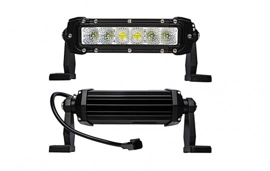 """6"""" Off Road LED Light Bar with Multi Beam Technology- 30W - ORBP6-30WS-CB"""