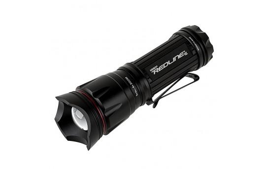 LED Flashlight - NEBO REDLINE OC Optimized Clarity Tactical Flashlight with Strobe Mode - 200 Lumens - #6092