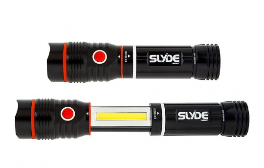 LED Flashlight - NEBO SLYDE LED Flashlight - 250 Lumens - #6156