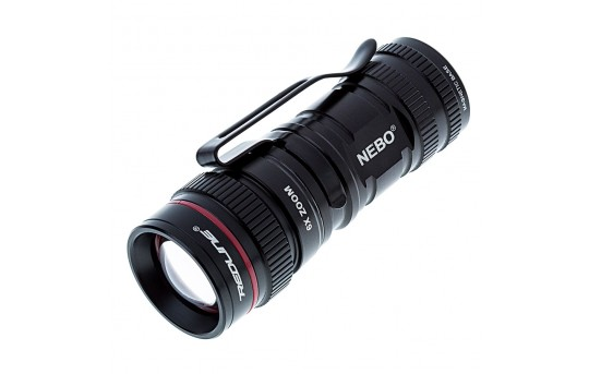 LED Flashlight - NEBO Micro REDLINE OC Optimized Clarity Flashlight - 150 Lumens - #6272