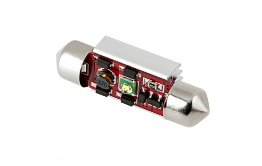6418 LED CAN Bus Bulb - 1 SMD LED Festoon - 36mm - 3610-W1-CB-CAR