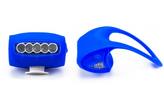 7 LED Silicone Bicycle Light
