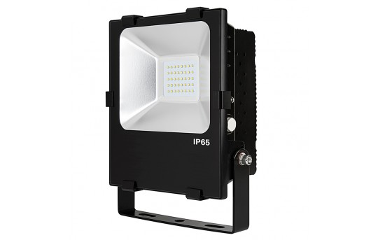 66 Watt High-Power LED Flood Light Fixture in Cool White - 4,800 Lumens - FLC2-x70W