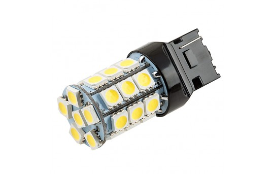 7440 LED Bulb - 27 SMD LED Tower - Wedge Base - 7440-x27-T-CAR