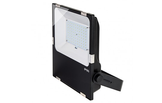 80 Watt LED Flood Light Fixture - 3000K/4000K/6000K - 175 Watt MH Equivalent - 9,300 Lumens - FLC4-x80