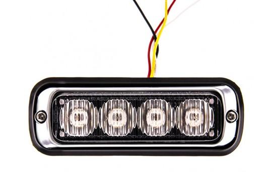 4 Watt Vehicle Mini Strobe Light Head - Surface Mount - P-STRB-x4W