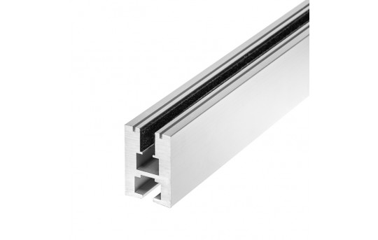 Aluminum LED Channel for 6mm Glass - KLUS EX-ALU Series - B1890