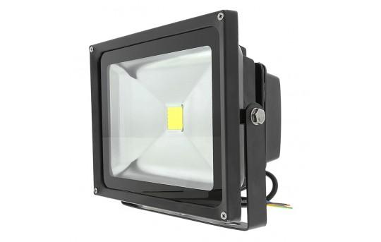 "LED Work Light - 8.75"" Rectangle - 20W - 5000K - 1,070 Lumens - FL-CW120-20W-DI"