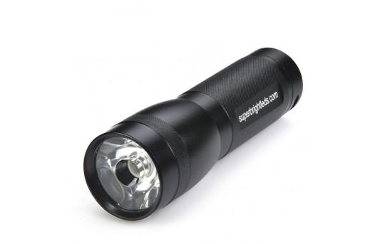 3 Watt LED Flashlight - Black - 120 Lumens - FL-3W-35