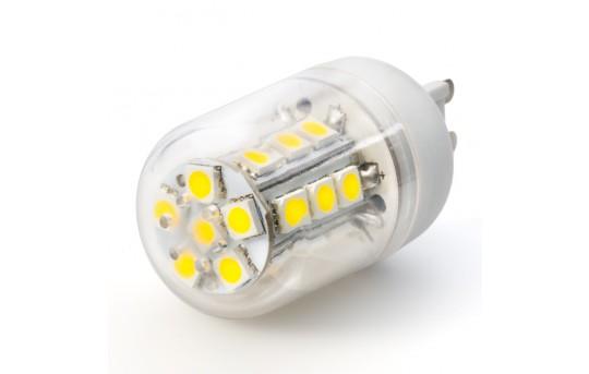 LED G9 Base Bulb - 24 SMD LED Tower - G9-xW24