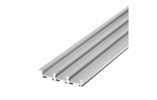 3-Channel Flush Mount Profile Housing for LED Strip Lights - TRIADA-K Series - B4477