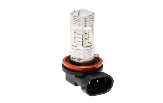 H11 LED Bulb w/ Focusing Lens - 15 SMD LED Daytime Running Light - LED Tower - H11-W15-TL