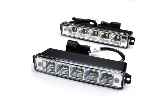High Power Side Mounted LED Daytime Running Light Kit - DRL-CW5-SM