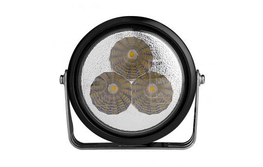 3 Watt LED Light Pod Kit - Round Set - 130 Lumens - DRL-NW3-SM