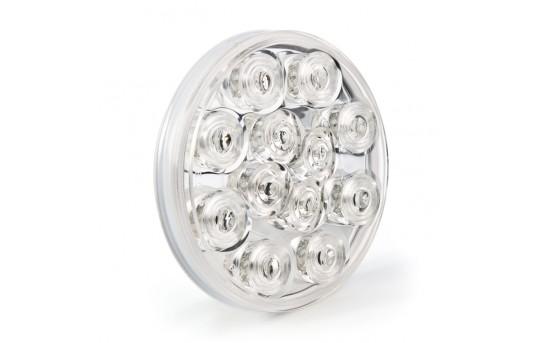 "Round LED Truck Trailer Back-Up Lights - 4"" LED Reverse Light with 12 LEDs - ST-W12-PT"