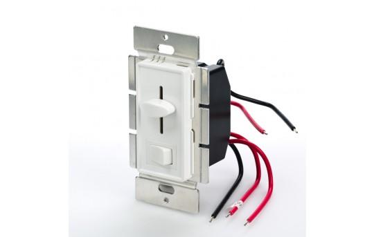 SLVDx-60W-3W LED 3-Way Switch and Dimmer for Standard Wall Switch Box - SLVDx-60W-3W